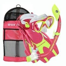 US Divers Kids Snorkeling Set