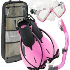 Mares Junior Snorkel Set with Dry Snorkel