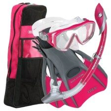US Divers Diva Snorkel Set for Women