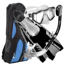 U.S. Divers Lux Snorkel Set with Phoenix Snorkel