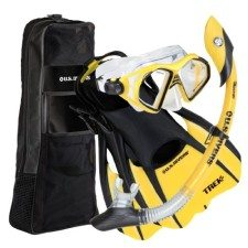 US Divers Adult Admiral Snorkeling Set