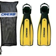 Cressi Pro Light Open Heel Snorkel Fin