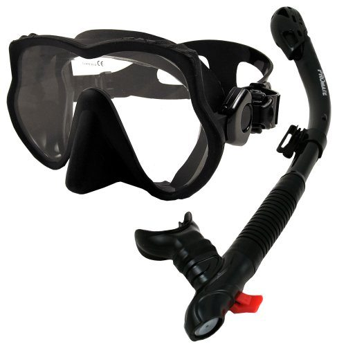 Promate frameless mask and snorkel set