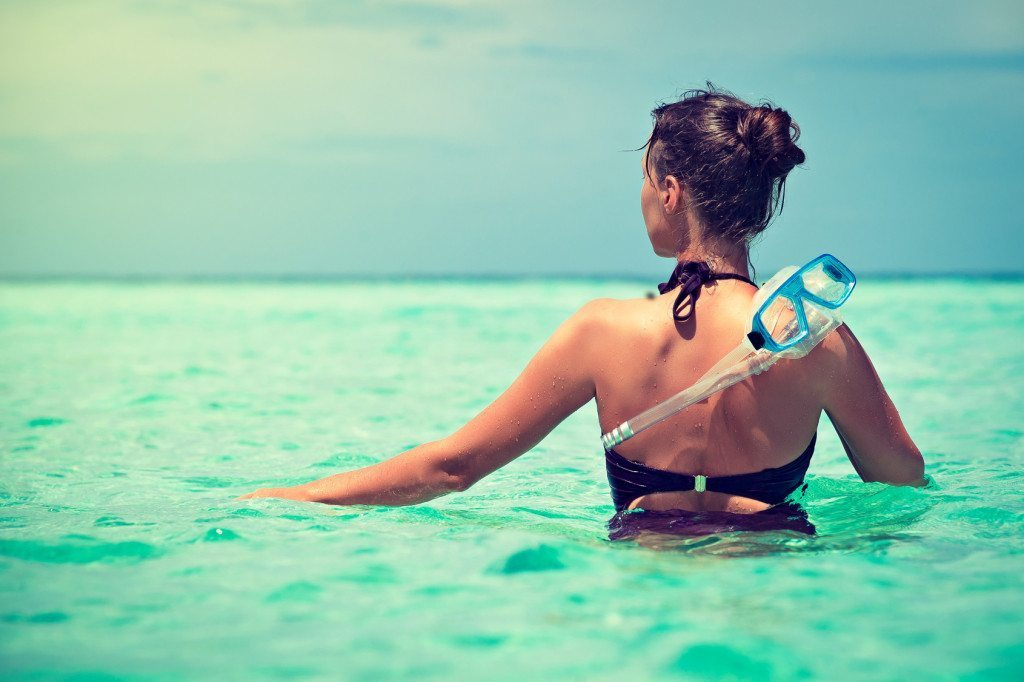 snorkeling for relaxation and meditation