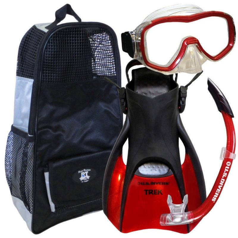 travel size snorkel set from US Divers