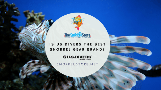 Blog title for US DIvers snorkel brand