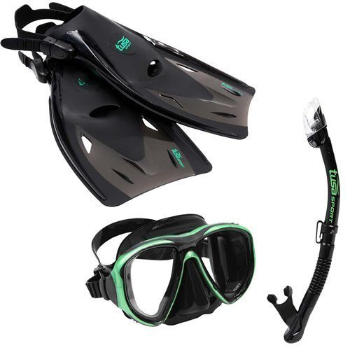 snorkel set review tusa powerview sport