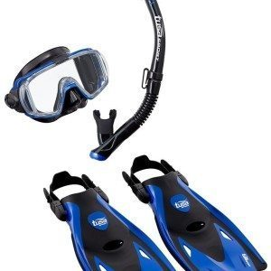 TUSA Snorkel set sport visio review
