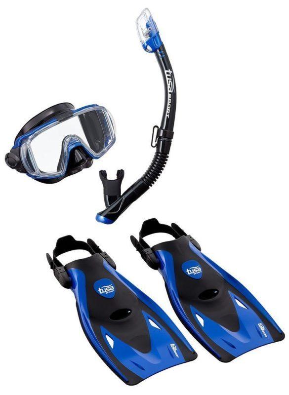 TUSA Snorkel set sport visio review