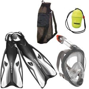 Mares Full Face Snorkel Mask Set