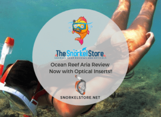 Ocean Reef Full Face snorkel mask review