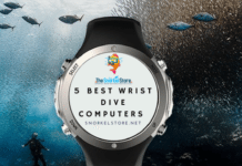 Blog title with image of a wrist dive computer