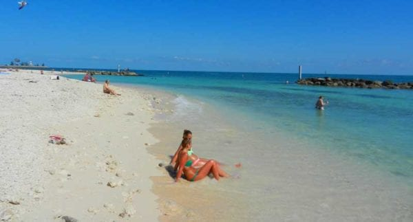 Fort Zachary Taylor snorkelers